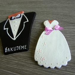 svadobný darček šaty + oblek/sada
