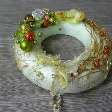 vianočný veniec - zelená krása
