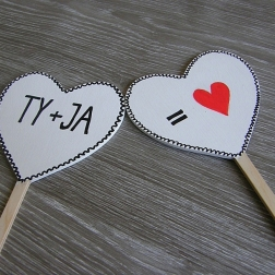 ceduľka TY + JA